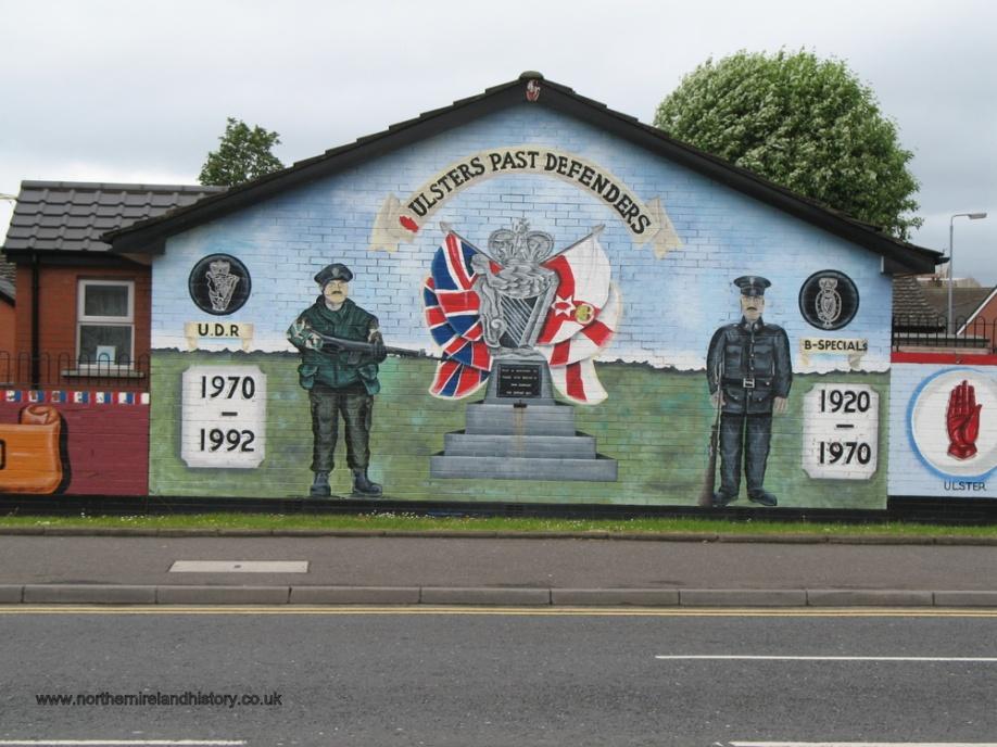 Murals in belfast northern ireland northern ireland history for Mural in belfast